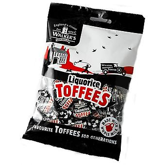 Walkers Nonsuch Liquorice Toffees Bag 150g