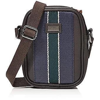 Ted Baker LONDON webbing mini flight bag. Man, Xchocolate, One Size