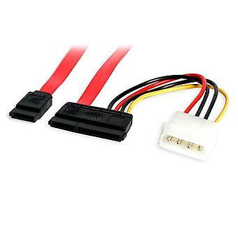 18in SATA Serial ATA -tiedot ja power combo -kaapeli