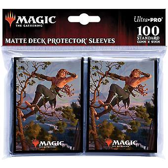 Magic The Gathering: Kaldheim featuring Tyvar Kell Card Sleeves - 100 Sleeves