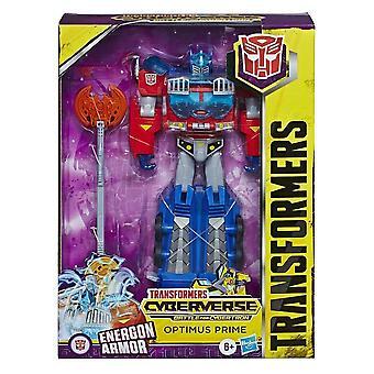 Transformers Optimus Prime Ultimate Cyberverse Adventures Action Figure