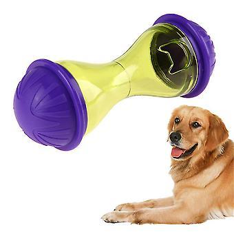 11x4.5cm Pets Dog Tumbler Leakage Food Ball Puppy Pet Training Exercise Pc+abs Pet Dog Fun Bowl Tasty Toy Feeder Dog Feeding