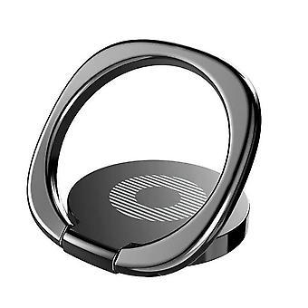 Magnetisk mobil ring / ringholder til mobil Sort