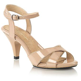 Fabulicious Women's Shoes BELLE-315 Nude Pat/Nude