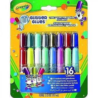 Crayola 16 Washable Glitter Mini Collars