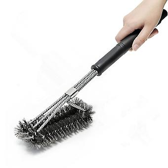 Homemiyn Bbq Grill Brush Stainless Steelbarbecue Cleaning Brush - Perfect Cleaner & Scraper For Grill Cooking Grates