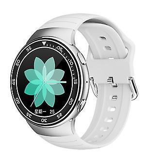 Chronus Smart Watch Fitness Watch, IP67 Vedenpitävä Fitness Tracker, Bluetooth-puhelinVerenpaine & verenpaine sykemittari (valkoinen)