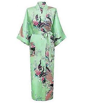 الجلباب الأزهار وصيفات الشرف ثوب طويل كيمونو العروس ثوب sm163408