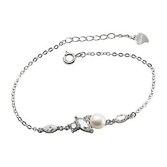 H36 S925 Sterling Silver Fashion Temperament Bracelet Hand Jewelry Simple Bracelet Bridesmaid Gift