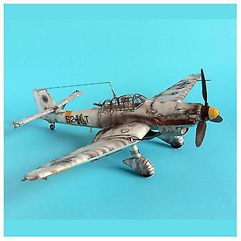 Diy 3d Paper-card Model Building Sets - Budowa samolotów wojskowych