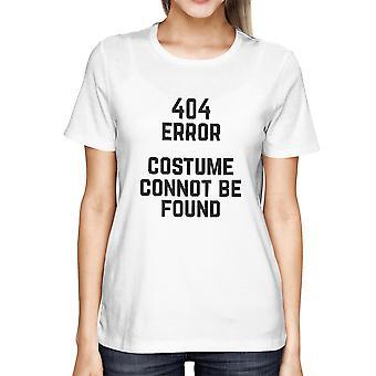 404-fel anpassad hittades inte T-shirt Halloween damer Söt tröja