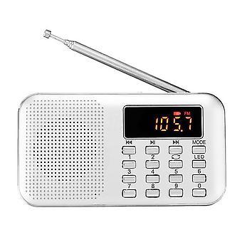 Mini Multifunktionsradio für ältere Menschen Tragbare Outdoor-Sport-MP3-Kartenradio| Radio