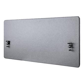Deltaco Office, panel ochrony prywatności pulpitu akustycznego 1200x600mm