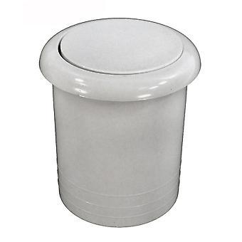 "Press Air Trol PATB318WA 1.5"" Mounting Hole Econ Flush Air Button - White"