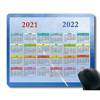 Keyboard mouse wrist rests 220x180x3 gaming mouse pad 2021 year calendar clouds sky orange white grey black storm soft mouse