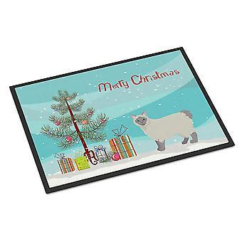 Door mats owyhee bob #1 cat merry christmas indoor or outdoor mat 24x36