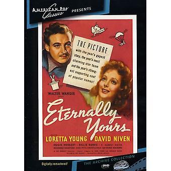 Éternellement vôtre (1939) [DVD] USA import