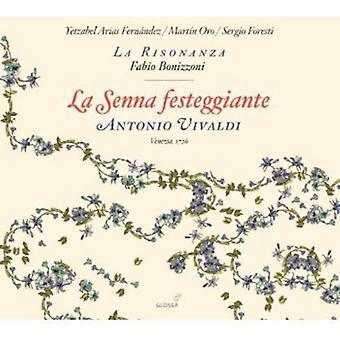 A. Vivaldi - Antonio Vivaldi: La Senna Festeggiante [CD] USA import