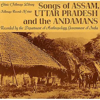 Songs of Assam Uttar Pradesh & the Andamans - Songs of Assam Uttar Pradesh & the Andamans [CD] USA import