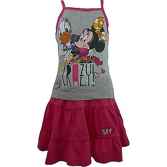 Ragazze Disney Minnie Mouse & Daisy t-shirt senza maniche & gonna impostare