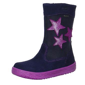 Superfit Girls Mercury 092-81 Gore-tex Boots Ocean Blue Pink