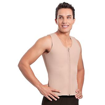 Esbelt ES305 Men's Nude Firm/Medium Control Slimming Shaping Shaping Vest Top