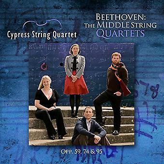 Beethoven / Cypress String Quartet - Middle String Quartets [CD] USA import