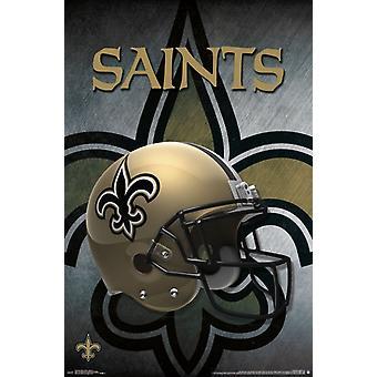 New Orleans Saints - kypärä 16 Juliste Tulosta