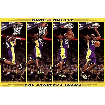 Los Angeles Lakers - K Bryant 13 Poster Print