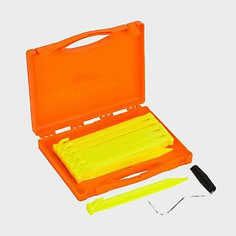 New Vango Bolt Plastic Peg Set Yellow