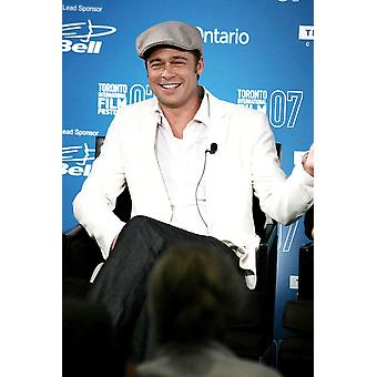 Brad Pitt At The Press Conference For The Assassination Of Jesse James By The Coward Robert Ford Press Conference At The 32Nd Annual Toronto International Film Festival Four Seasons Hotel Toronto Cana