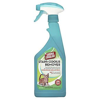 Simple Solution Stain and Odour Remover para gatos y perros