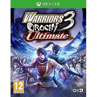 Warriors Orochi 3 Ultimate (Xbox One) - Nouveau