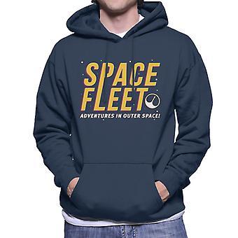Black Mirror USS Callister Logo Men's Hooded Sweatshirt
