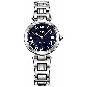 Rotary Womens Kensington Midnight Sky Steel Quartz LB05190/67 Watch
