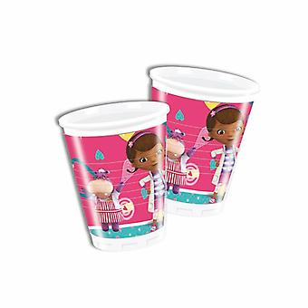 Doc McStuffins toy doctor party Cup drinking cups 200ml 8 piece children birthday theme party
