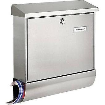 Burg Wächter 8150 AMRUM-SET 38670 NI Letterbox Stainless steel Silver Key
