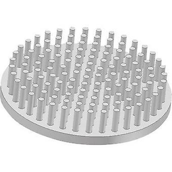 Fischer elektronik ICK S R 32, 5 x 10 kølelegemet (stifter) 5,54 K/W (Ø x H) 32,5 mm x 10 mm