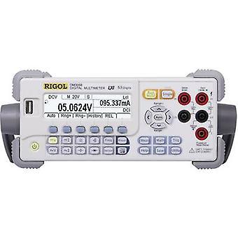 Rigol DM3058E Bench multimetr Cyfrowy WYŚWIETLACZ CAT II 300 V (liczba): 200000