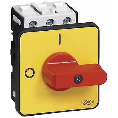 BACO BA172102 Isolator switch 32 A 1 x 90 ° Yellow, Red 1 pc(s)