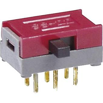 NKK Switches SS22SDP2 Slide switch 30 V DC 0.1 A 2 x On/On 1 pc(s)