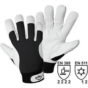 L + D Griffy 1707 nappa werk handschoen maat (handschoenen): 8, M EN 388, EN 511 CAT II 1 paar