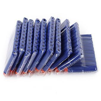 100 x 弾 N-ストライクのエリート - 青い色のためのダーツを泡します。