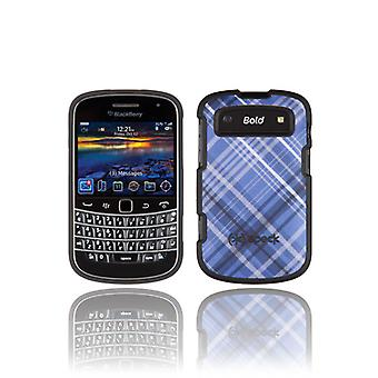 Speck Plaid Fitted Case for BlackBerry Bold 9900/9930 (Blue)
