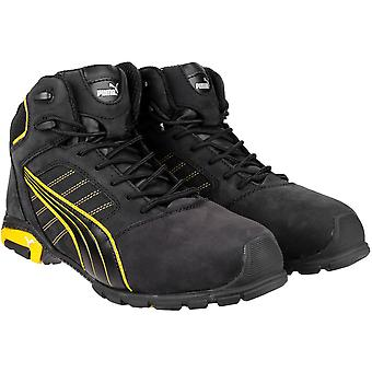 Puma Safety Footwear Mens Amsterdam Mid Leather S3 SRC Safety Boots