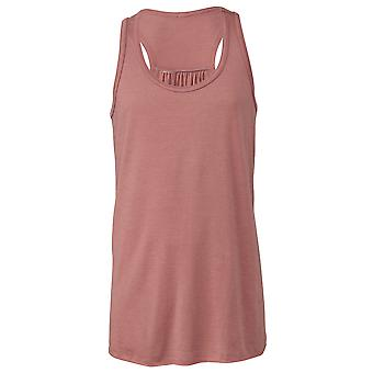 Bella + Canvas Youths Girls Flowy Racer Back Tank Top