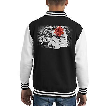 Opprinnelige Stormtrooper-hjelm Christmas gave barneklubb Varsity jakke