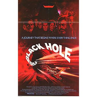 The Black Hole Movie Poster (11 x 17)