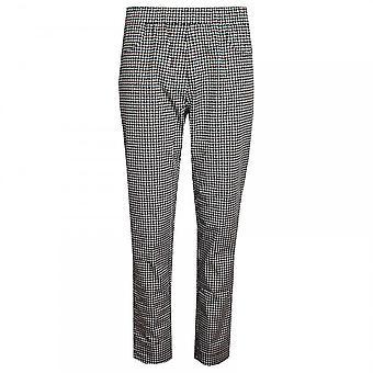 Latte Women's Geometric Print Trousers