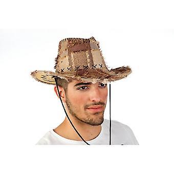 Western hoed patch Hat Hat mannen bedrijfsmedewerker heer Hat Brown